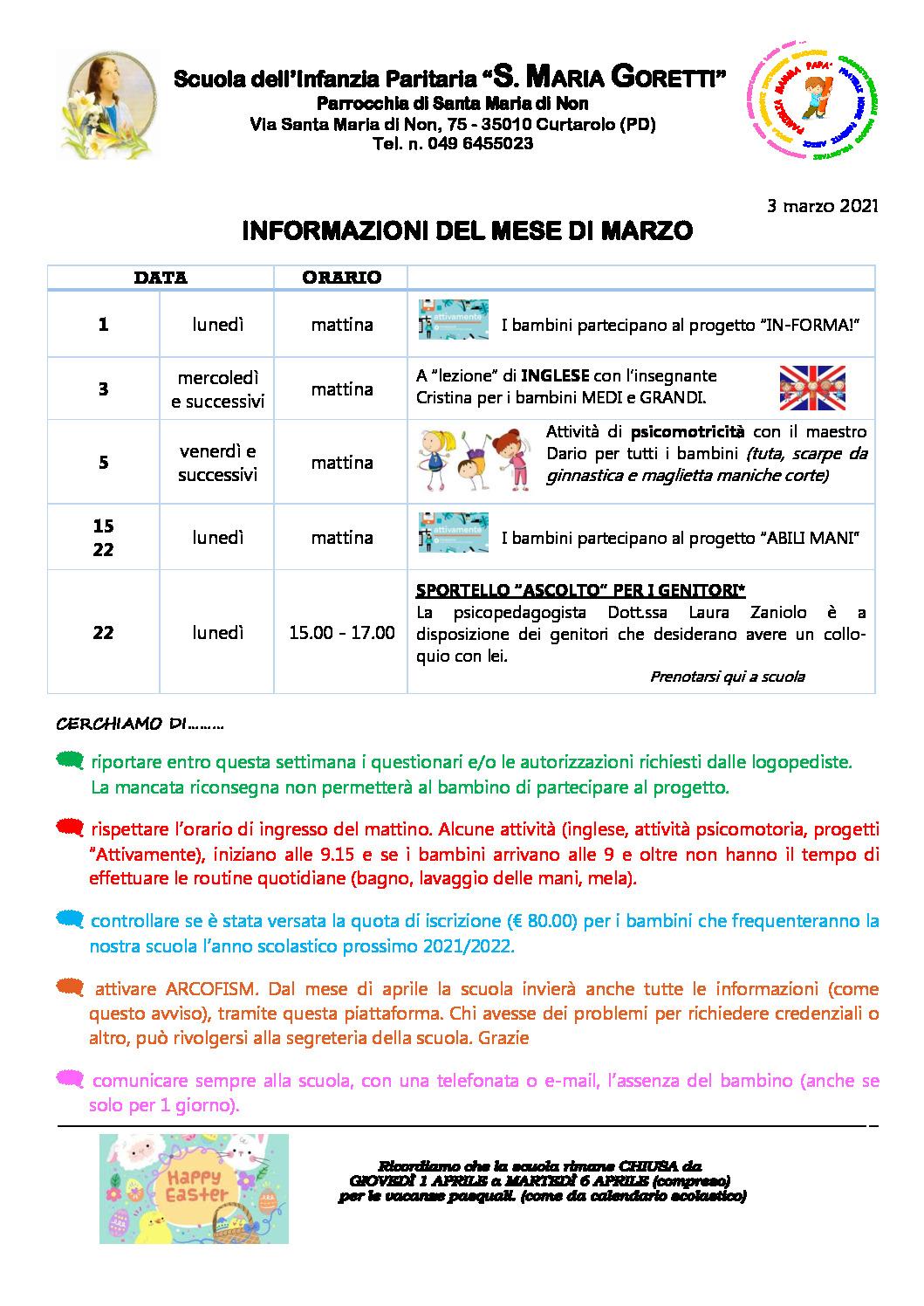 thumbnail of Informazioni ai genitori MARZO 2021