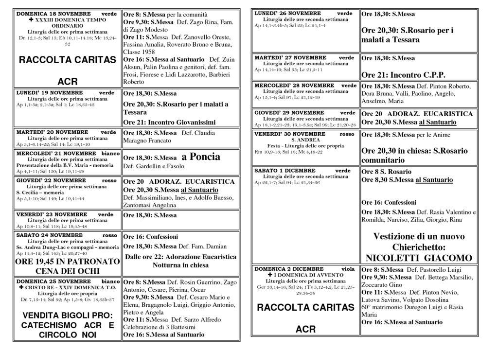 thumbnail of bollettino 18-11 02-12