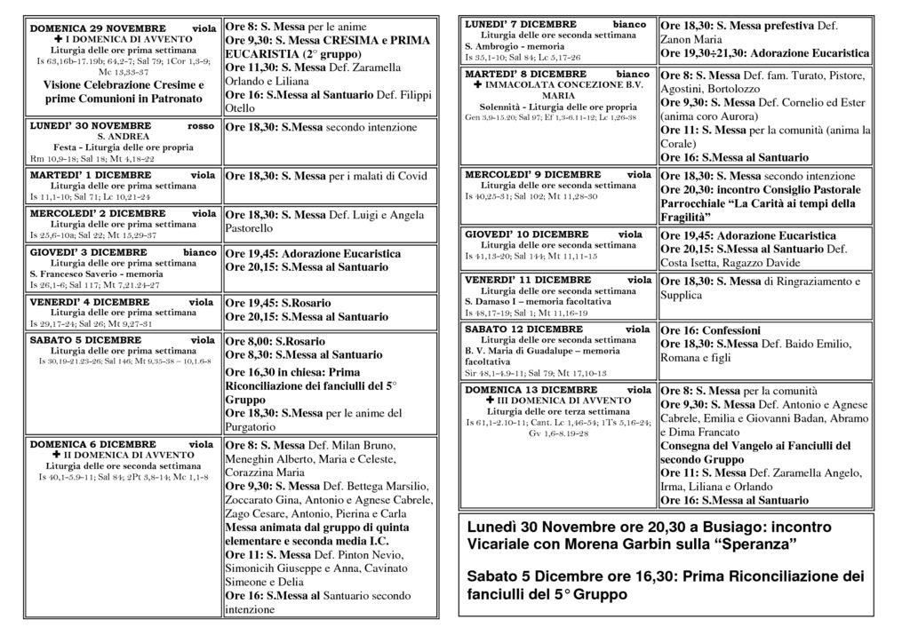 thumbnail of bollettino 29-11 13-12